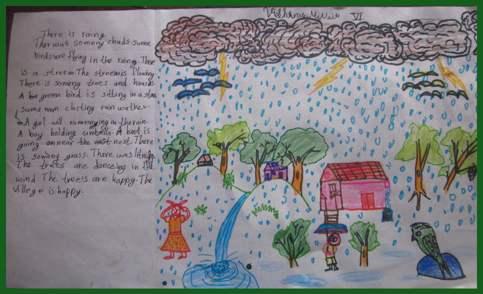 Why do you like rainy season