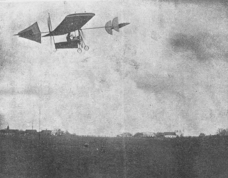 Cel de-al doilea zbor al lui Aurel Vlaicu pe dealul Cotroceni
