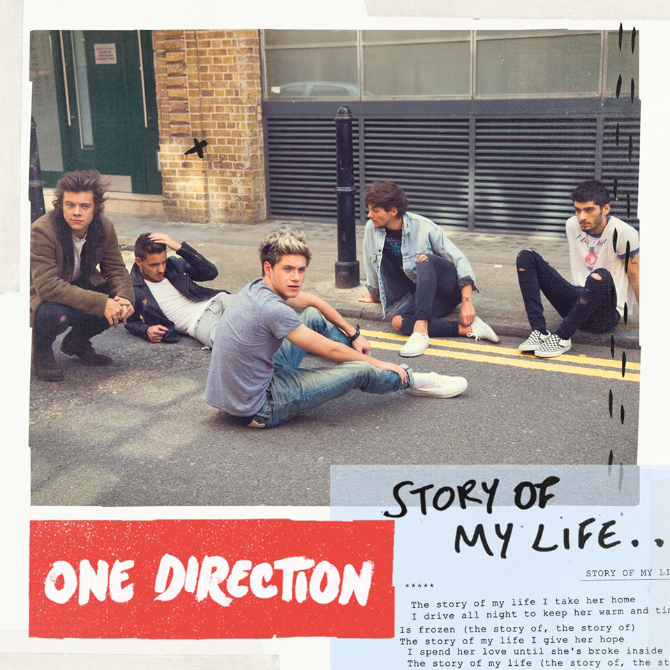 Capa One Direction – Story of My Life (2013) | músicas