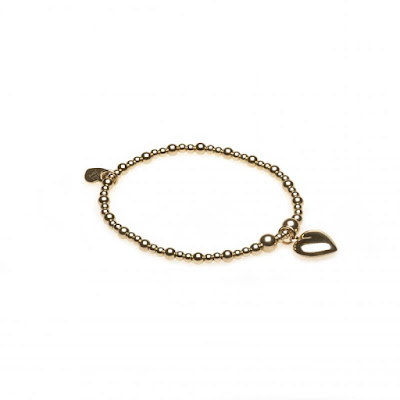 My Midlife Fashion Bella Jane Jewellery Gold Heart Bracelet