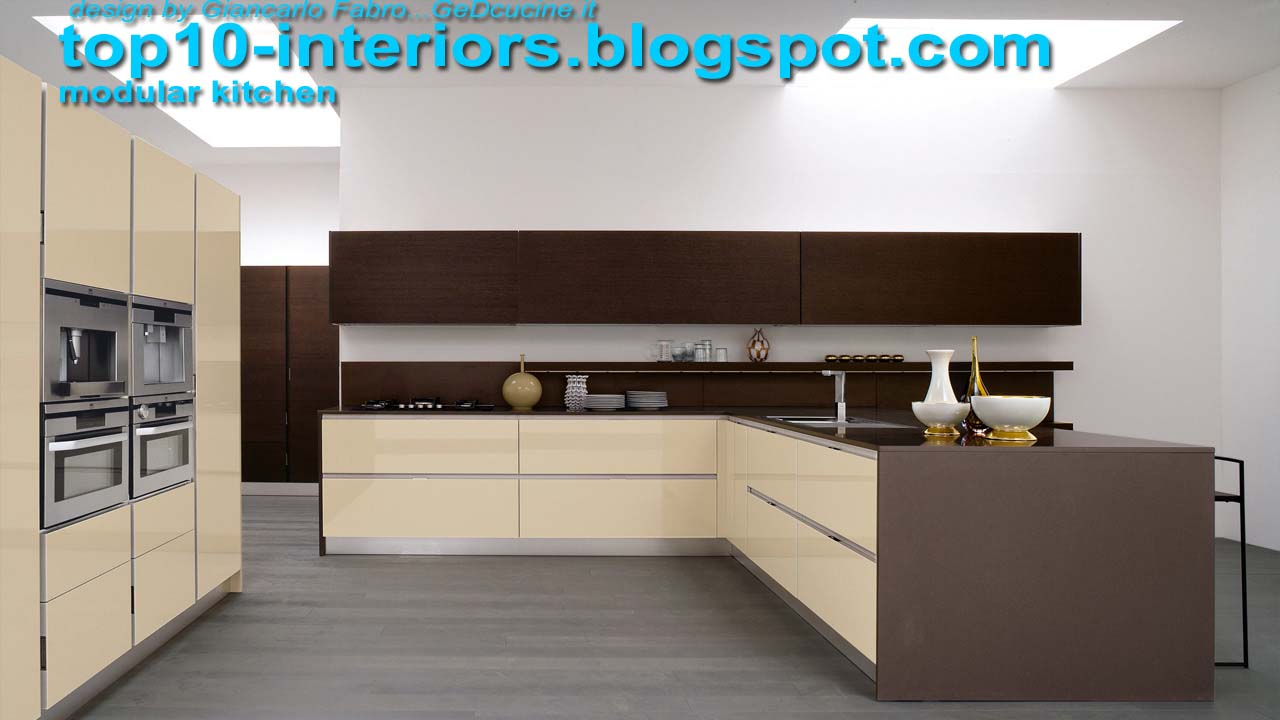 Top 10 Interiors Top10 Modular Kitchen Part4 10photos