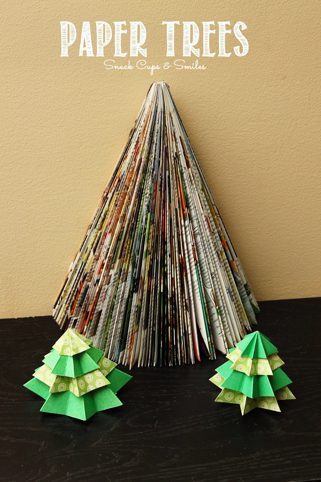#papercrafts #papertrees #paper #trees #holidaydecorating #crafts #holidayideas