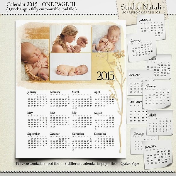 http://shop.scrapbookgraphics.com/Calendar-2015-Single-Page-IV..html