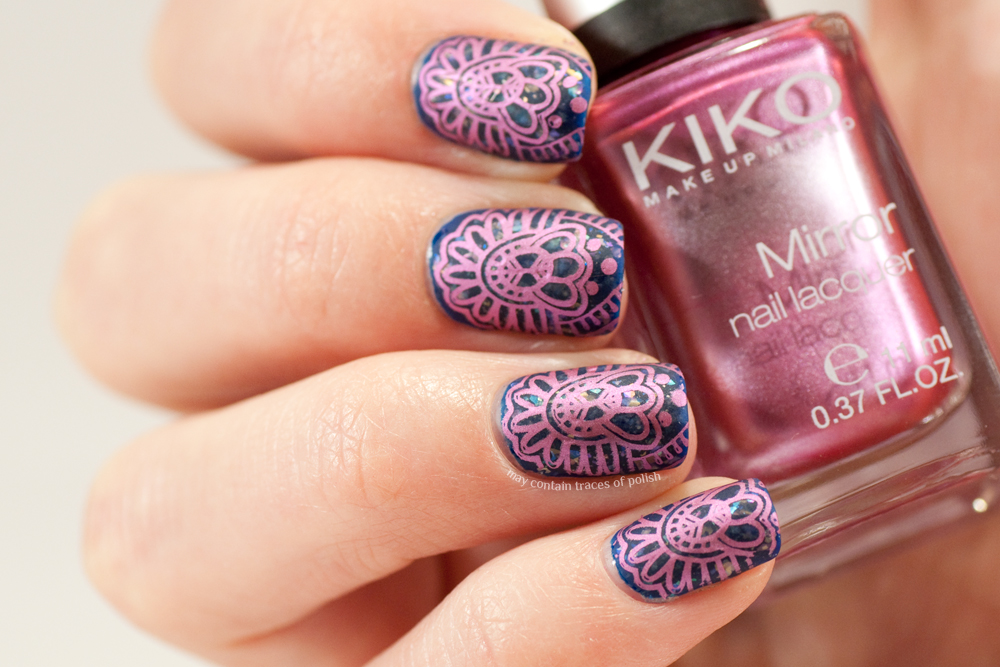 Matte Stamping May Contain Traces Of Polish
