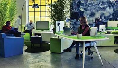 Decora el hogar decoraci n de oficinas modernas for Decoracion de oficinas juveniles