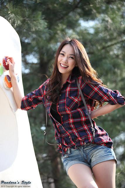 5 Ju Da Ha - Outdoor-very cute asian girl-girlcute4u.blogspot.com