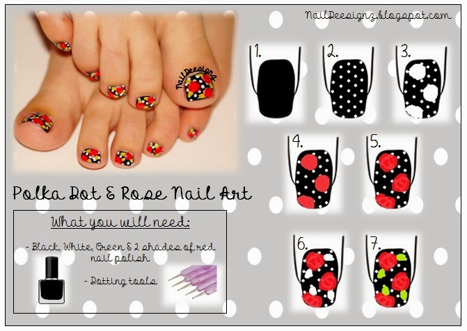 http://www.naildeesignz.blogspot.co.uk/2014/11/polka-dot-rose-pedicure.html