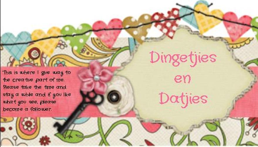 Dingetjies en Datjies
