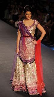 Jacqueline Fernandez fashion show