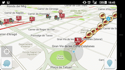 YoAndroideo.com: Waze, un GPS social, gratuito, divertido y muy útil