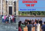 GENERACIÓN UNI 80 JUNIO 2017