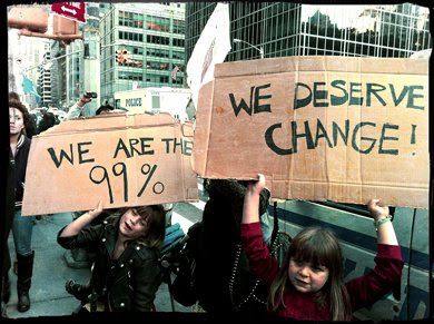 Kids at OWS