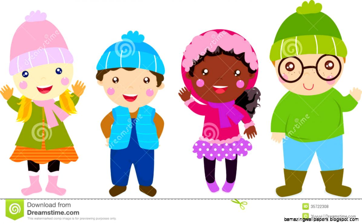 Winter Cartoon Clipart   Clipart Kid