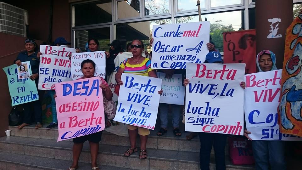 Proyecto de muerte en Honduras: ¡Siemens retírese!