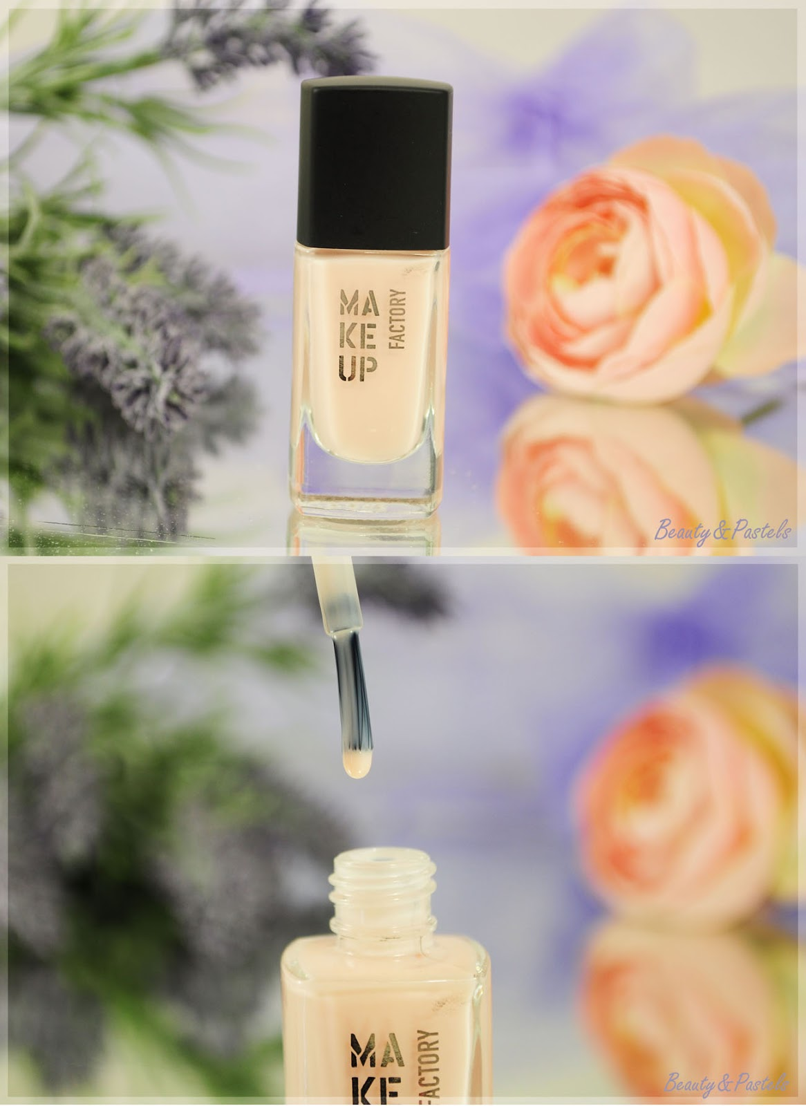 Nude-Nagellack-Make up factory