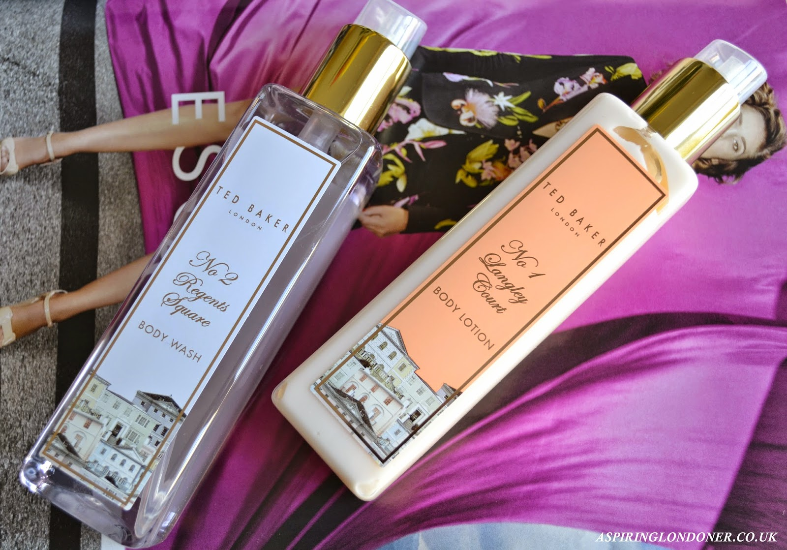 Ted Baker Regents Square Body Wash & Ted Baker Langley Court Body Lotion Review - Aspiring Londoner