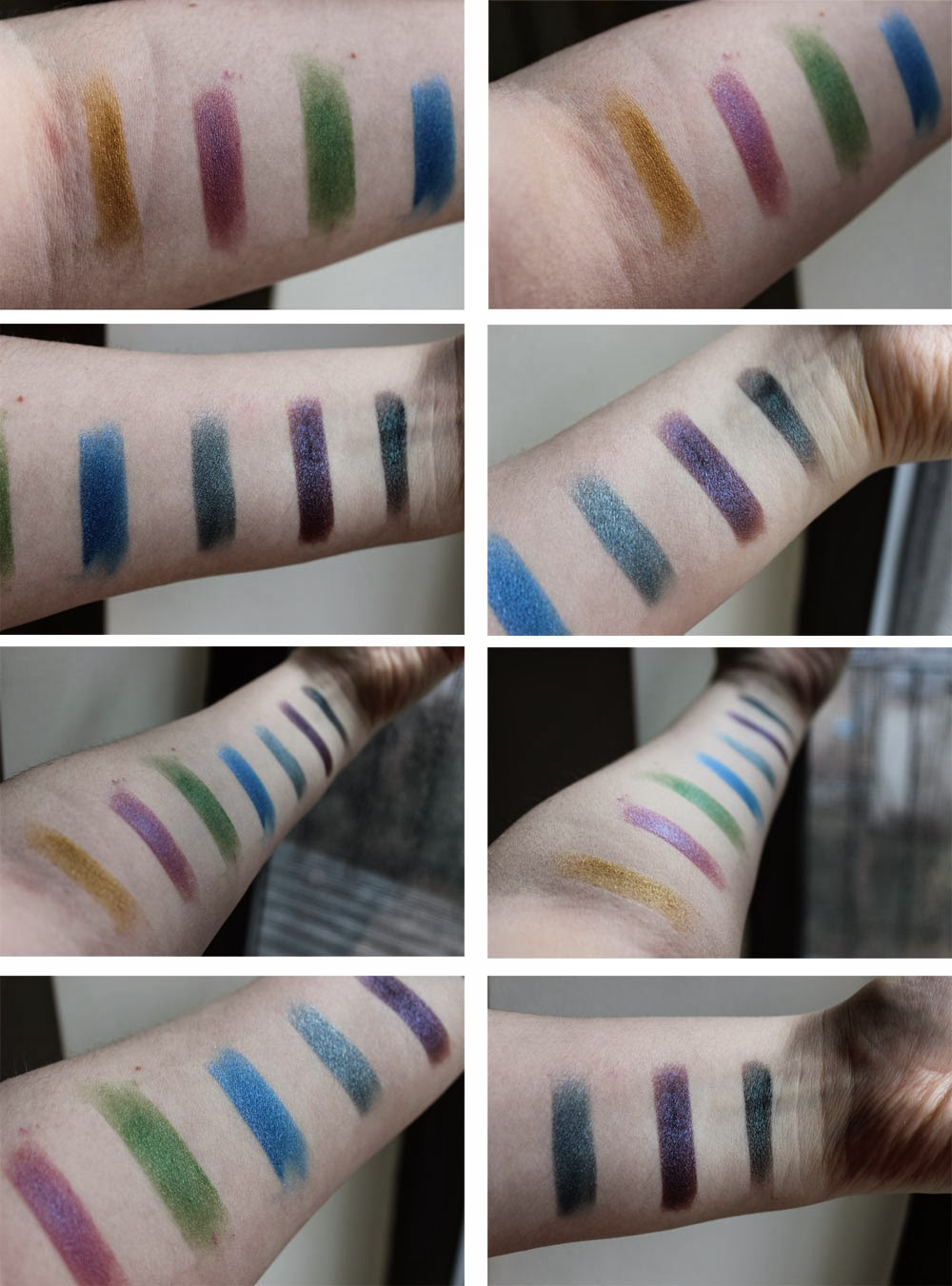 Notoriously Morbid A Dark Christmas Dream swatches