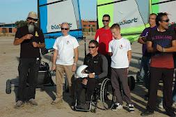Si quieres practicar un deporte realmente inclusivo, contacta:     Murcia.blokart@gmail.com