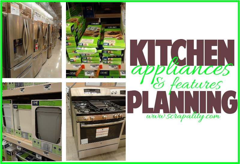 Kitchen Planning: Appliances and Extra Features