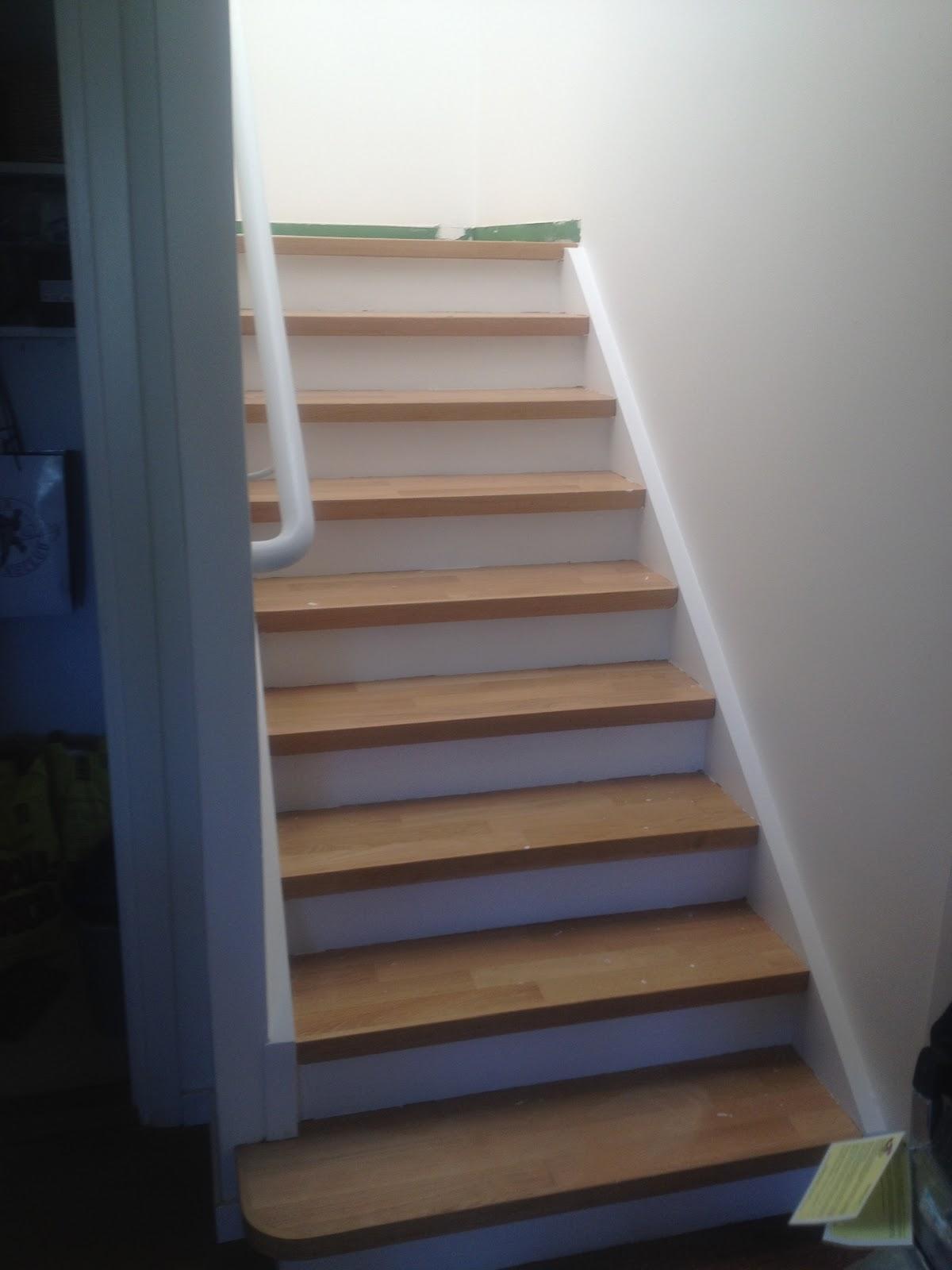 Hus Inspiration Inredning: Renovera trappan - visst går det att ...