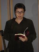 A punto de recitar en Radio sabadell