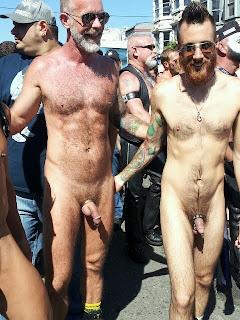 dore alley street nude man