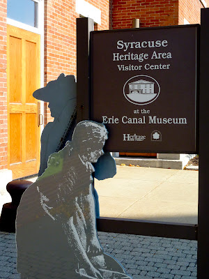 Entrada al Erie Canal Museum en Syracuse