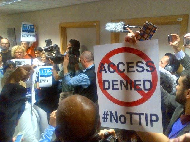 Access denied TTIP documents