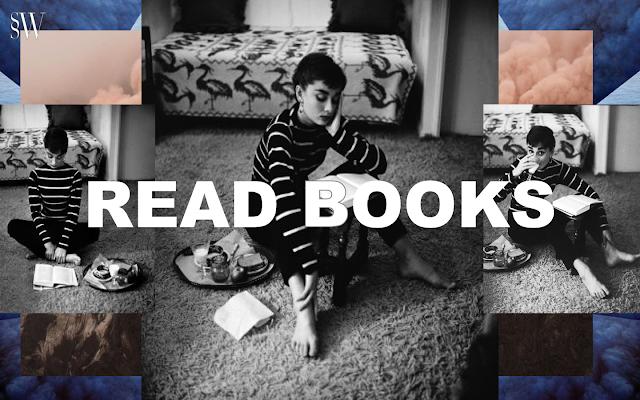 READ BOOKS   SO SHE WROTE