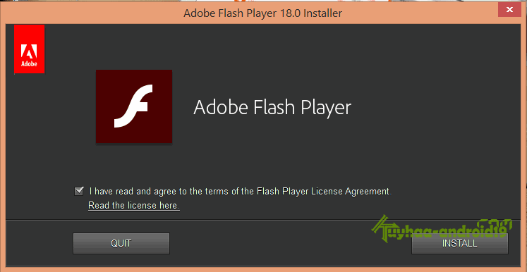 Adobe Flash Player 18.0.0.209 Final Install Offline