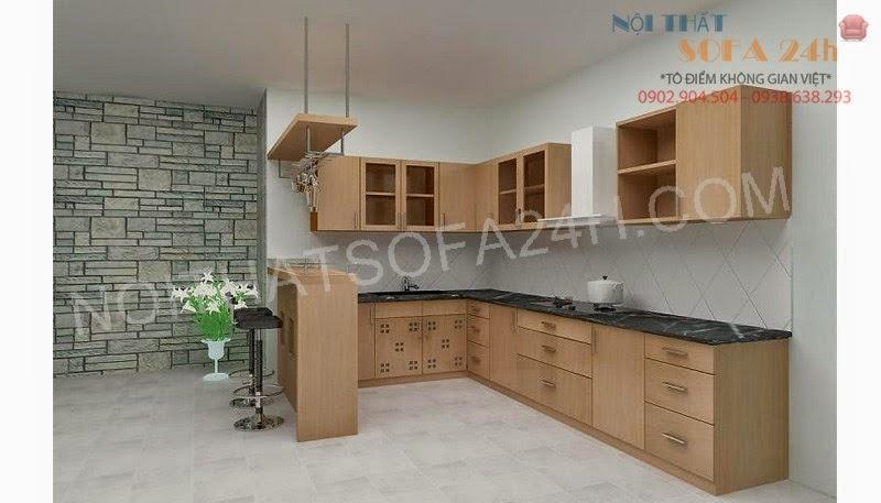 Tủ bếp TB047