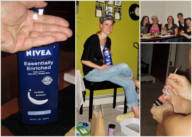 Girlfriend Pampering Spa Party #NIVEAmoments