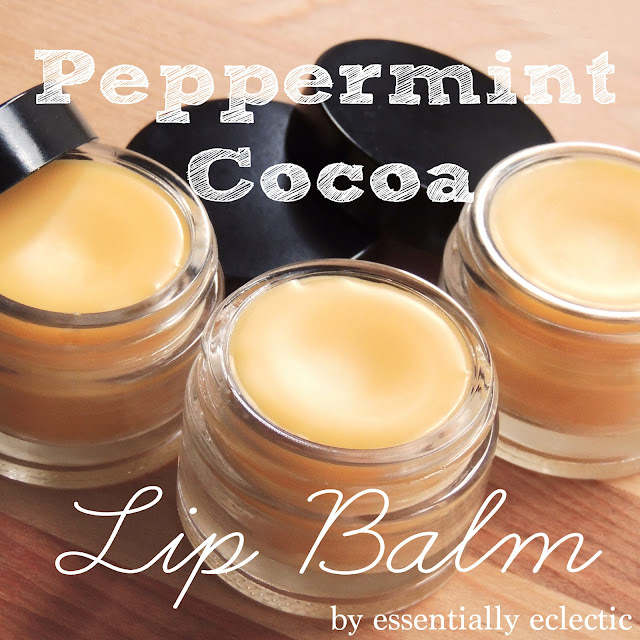 Peppermint Cocoa Lip Balm via Essentially Eclectic