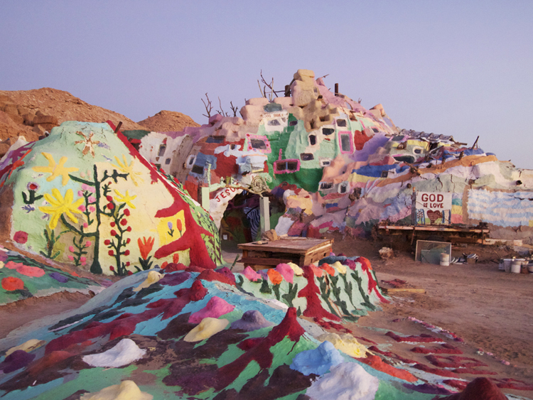 Vie De Vic Inspiring Destination Salvation Mountain