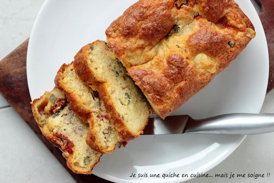 Cake Mozzarella Tomate Sechees