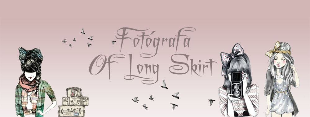 Fotógrafa Of Long Skirt