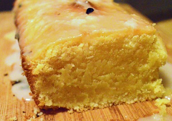 juicy lemon cake with lemon icing