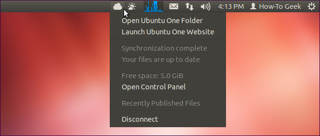 Ubuntu One Indicator