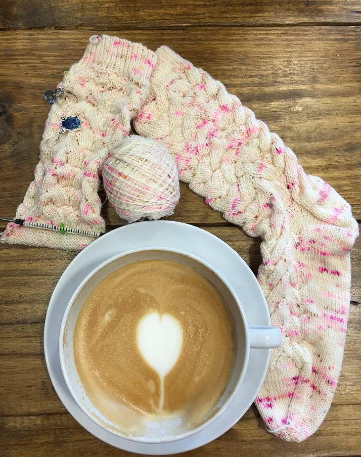 Enjoy a cup of coffee while you unravel, stitch, and mend with us!