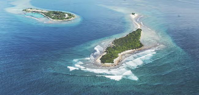 Maladewa pesona alam laut impian liburan para trader