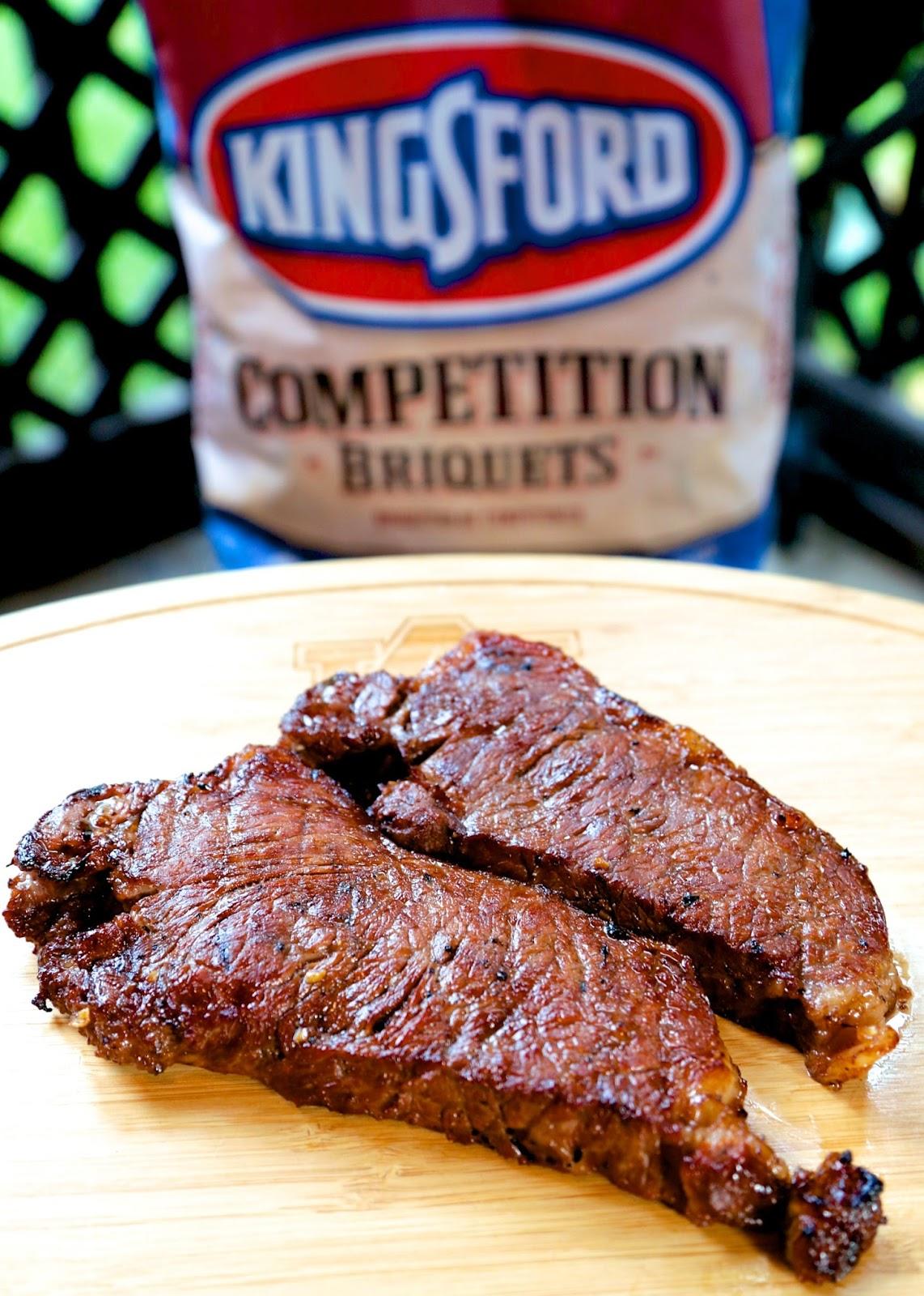 Steaks - tender meat marinated in coke, bourbon, sriracha, brown sugar ...