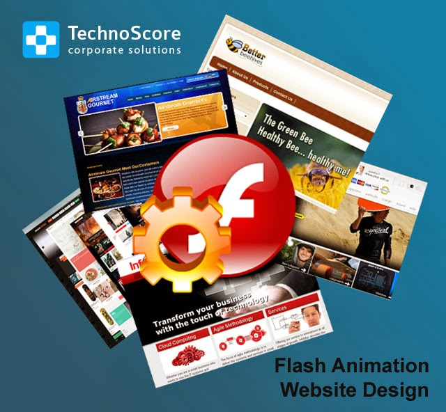 Flash animation website design