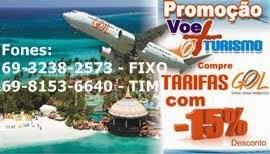Passagens aéreas é com: Voe + Turismo
