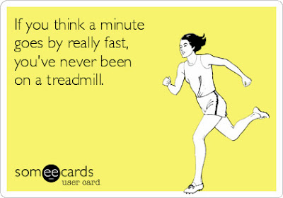Someecards Running on Treadmill