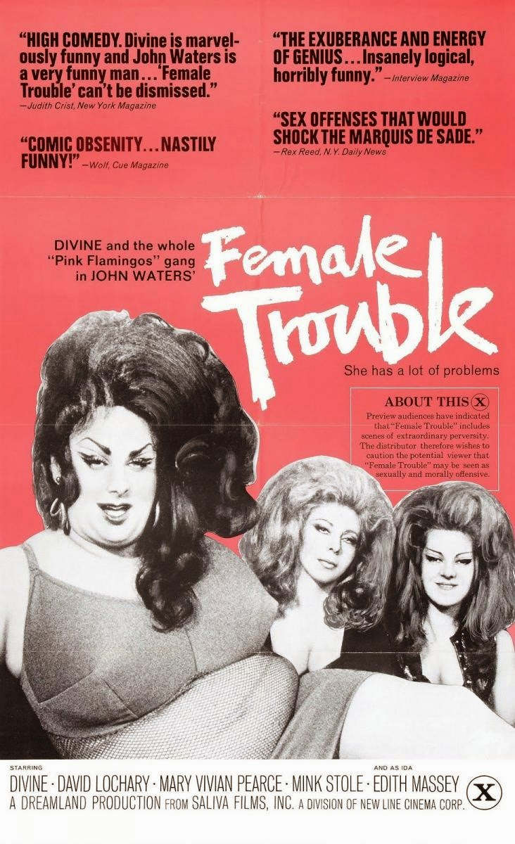 Female Trouble (8/03/2015)