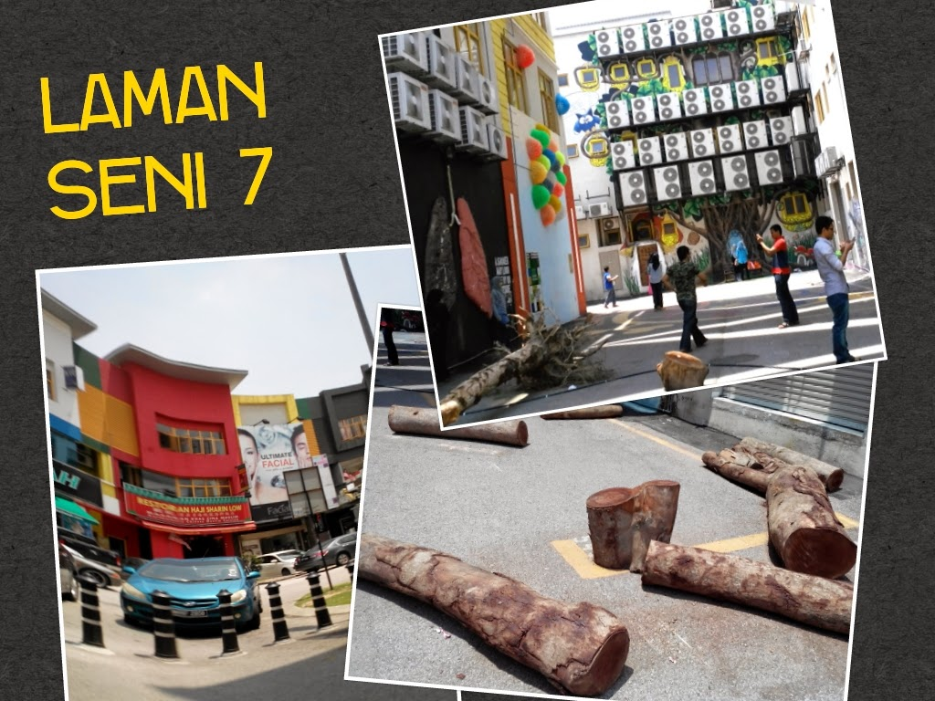 Laman seni Seksyen 7, Shah Alam - Part 2