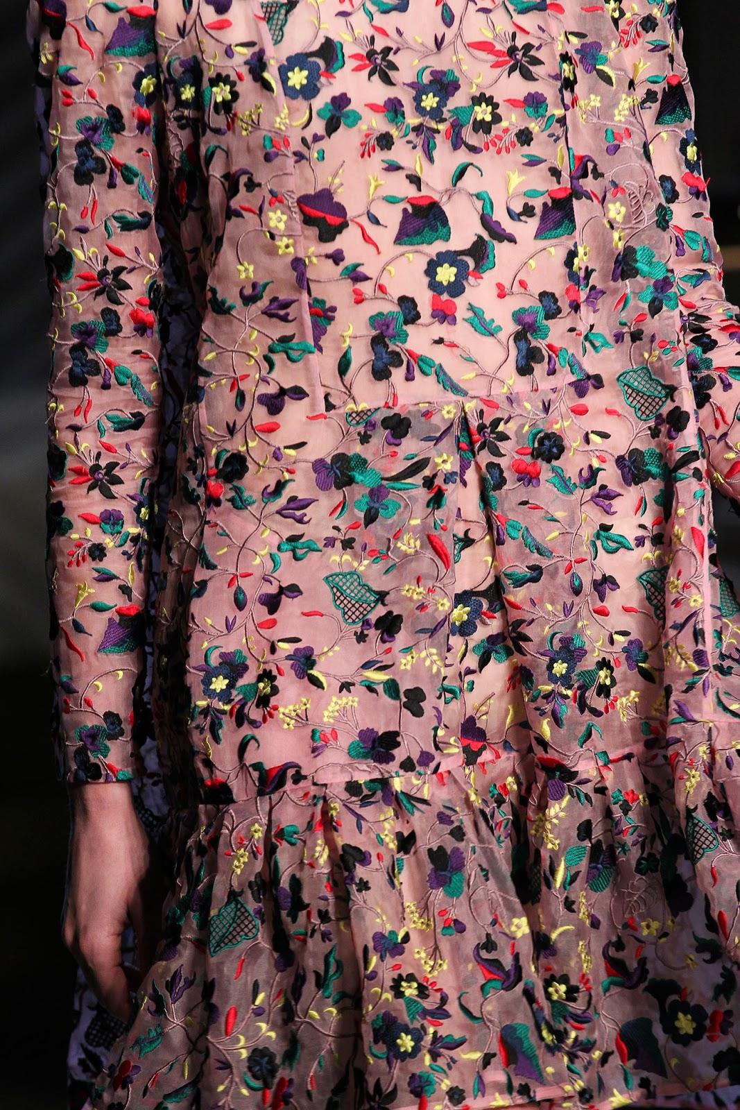 The best of London fashion week; Erdem Fall Winter 2015