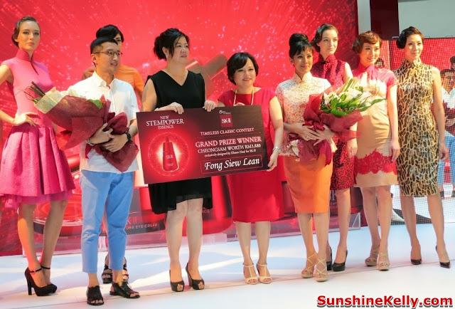 A Timeless Cheongsam, Khoon Hooi, SK-II, Cheongsam, fashion, beauty, mid valley center court, contest winner, fong siew lean