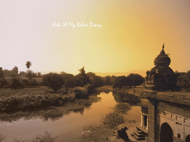 The beautiful historic town Saswad near Pune