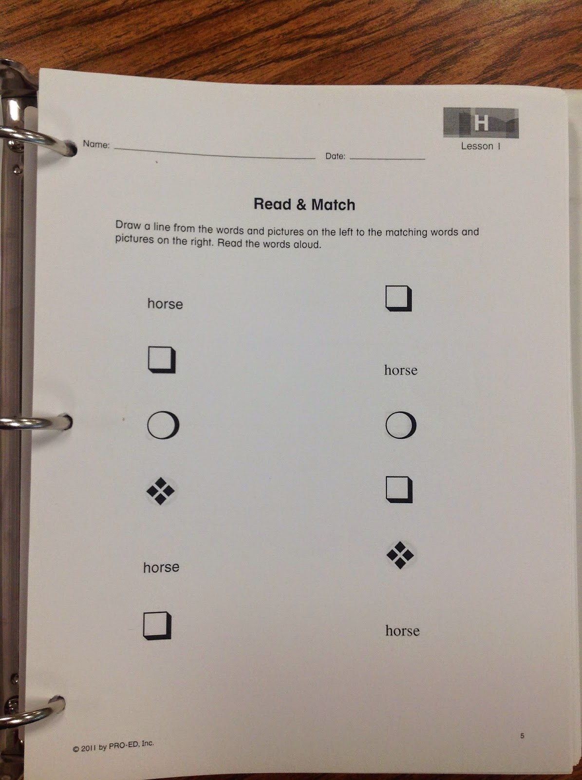 worksheet Free Edmark Reading Program Worksheets teach love autism edmark reading program in an classroom lastly the picture above and two pictures below are considered homework activities these things that could be sent home as h